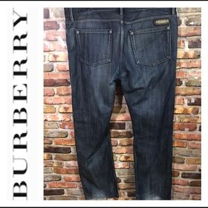🔥BURBERRY 38/32 Brit STEADMAN JEANS 🔥